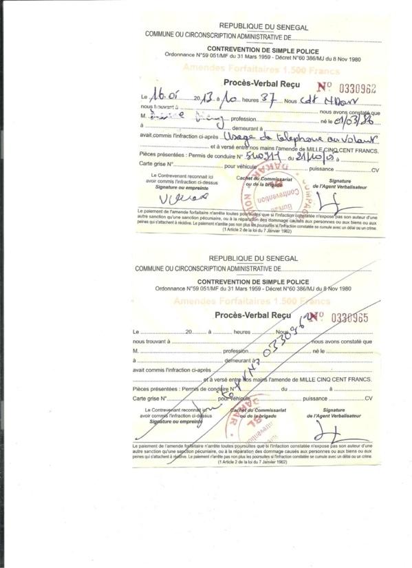 Commissariat des Parcelles Assainies : Quand des policiers deviennent des rançonneurs [Documents Preuves]