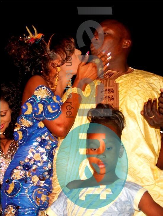 Ama Baldé, son épouse et sa fille aînée