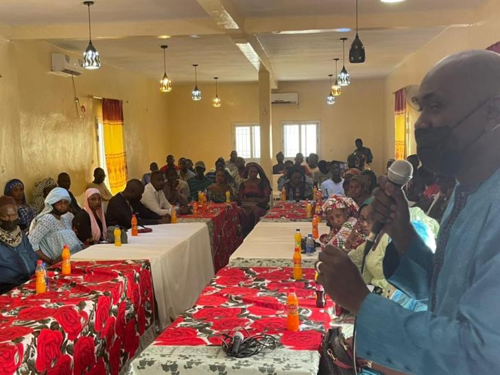 PHOTOS / Commune de Ourossogui: Samba Alassane Thiam, membre du Directoire de l'Apr, table sur les mesures présidentielles de financement