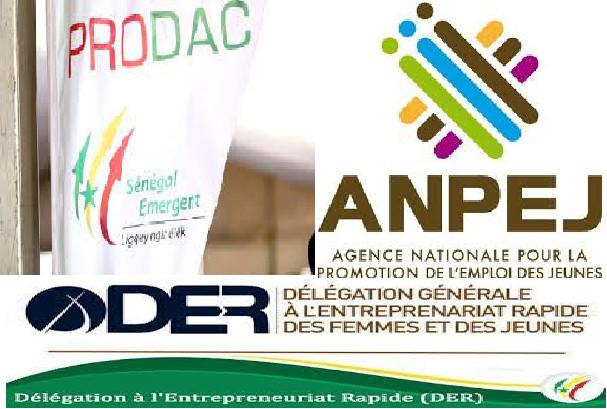 PRODAC-ANPEJ-DER et l'Emploi: Sur les traces de 140 milliards de francs Cfa