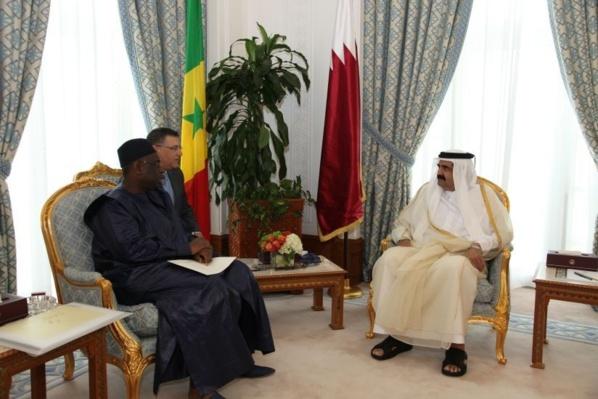 Accueil chaleureux pour Macky Sall à la résidence de l'Emir du Qatar