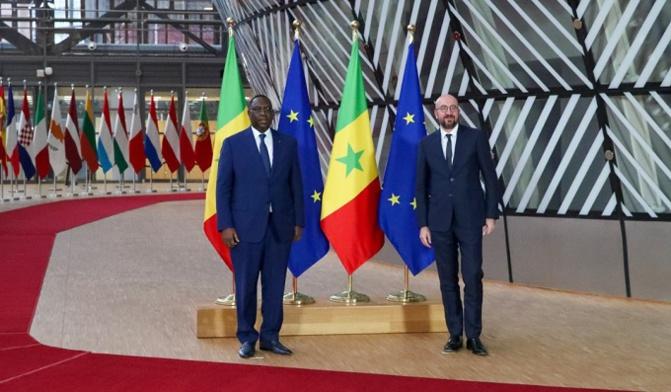 Le Sénégal bientôt producteur de vaccins anti Covid-19:  Macky Sall s'est entretenu avec Charles Michel, le Président de l'UE