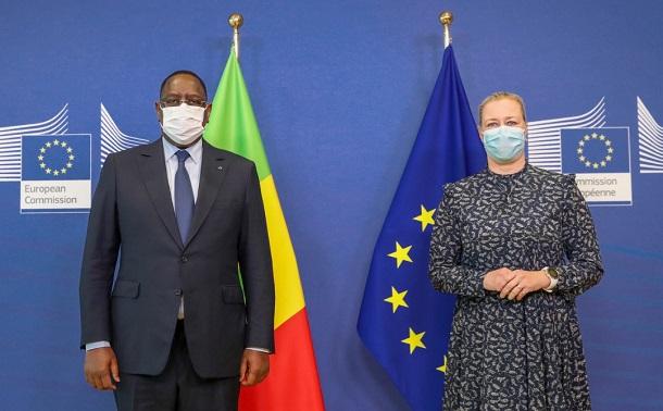 Dernier jour de sa visite officielle: Le Président Macky Sall a échangé avec Mme Jutta Urpilainen