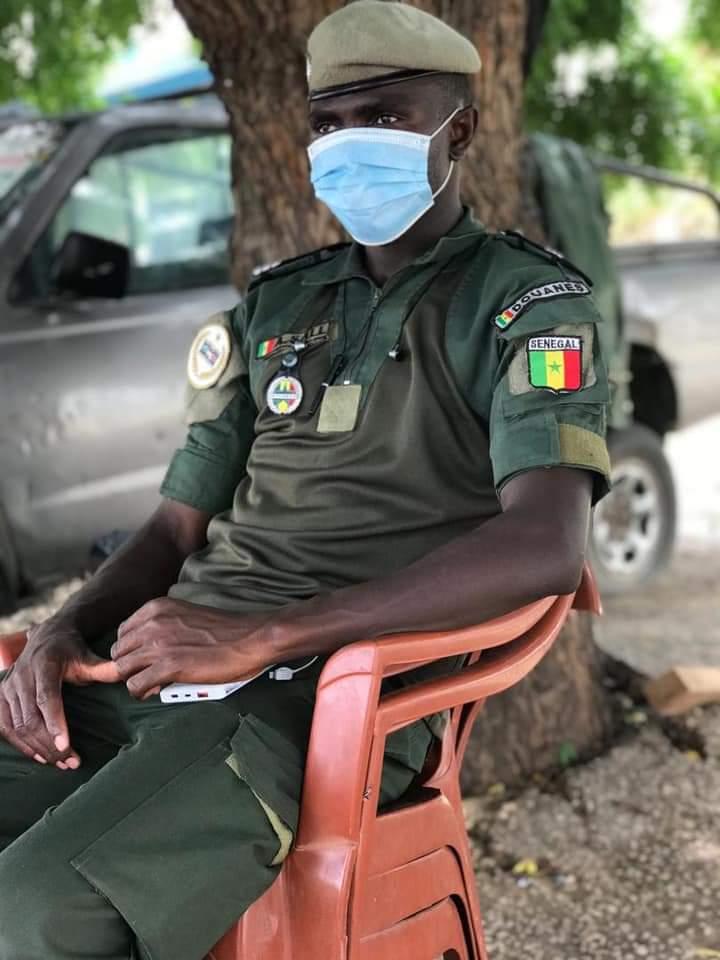 Accident de Kaolack: Voici le douanier qui a perdu la vie (Photos)