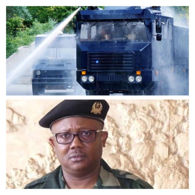 Guinée-Bissau : Pour casser du manifestant, Umaru Embalo obtient d'Erdogan des véhicules avec canon à eau chaude