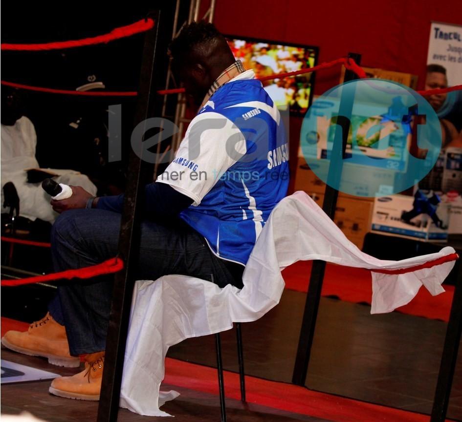 Balla Gaye 2 et Tapha Tine sur le ring