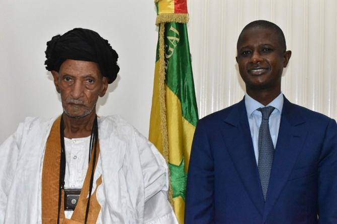 Préparatifs du pèlerinage de Nimzat : Antoine Félix Abdoulaye Diome s'est entretenu avec Khalife Général des khadres