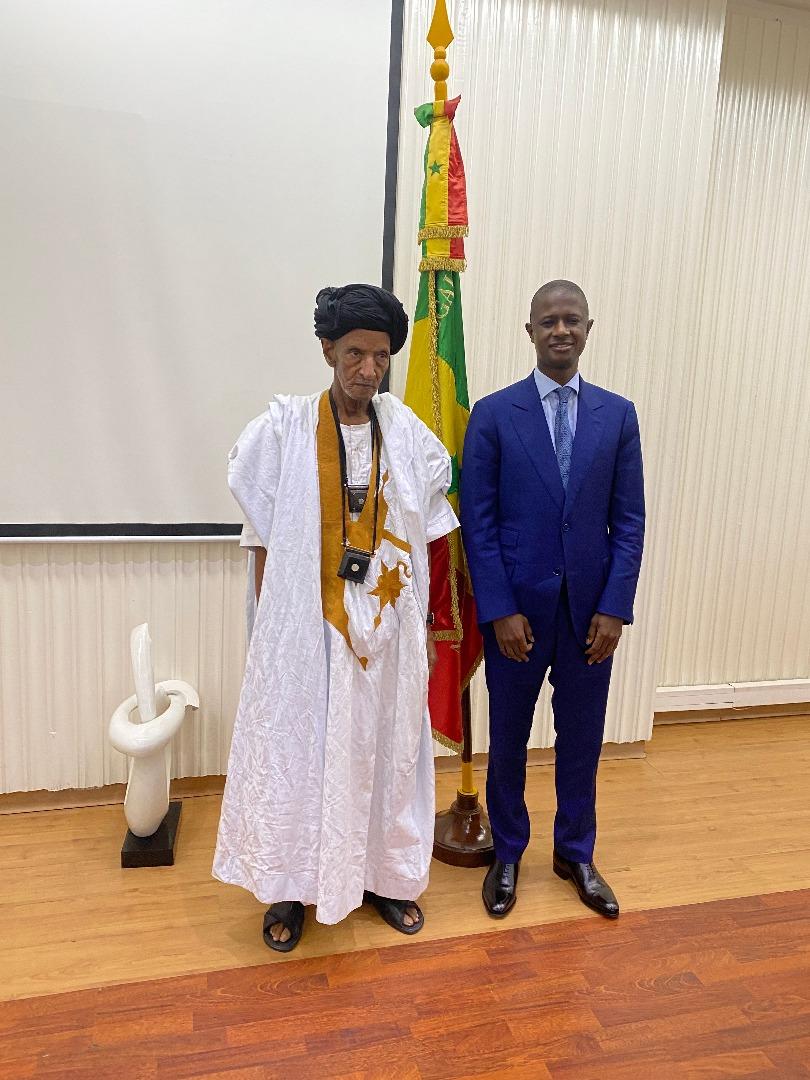 Le ministre de l'Intérieur Antoine Diome a reçu le Khalife Général des Khadres, Cheikh Ayah Aïdara
