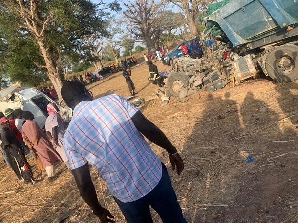 Grave accident faisant 6 morts et plus de 30 blessés: Les images du drame de Ndiongolor