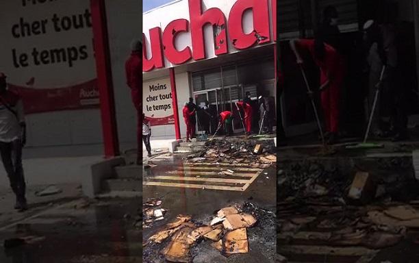Ramadan et fermeture de magasins Auchan pillés: Profonds regrets des clients riverains