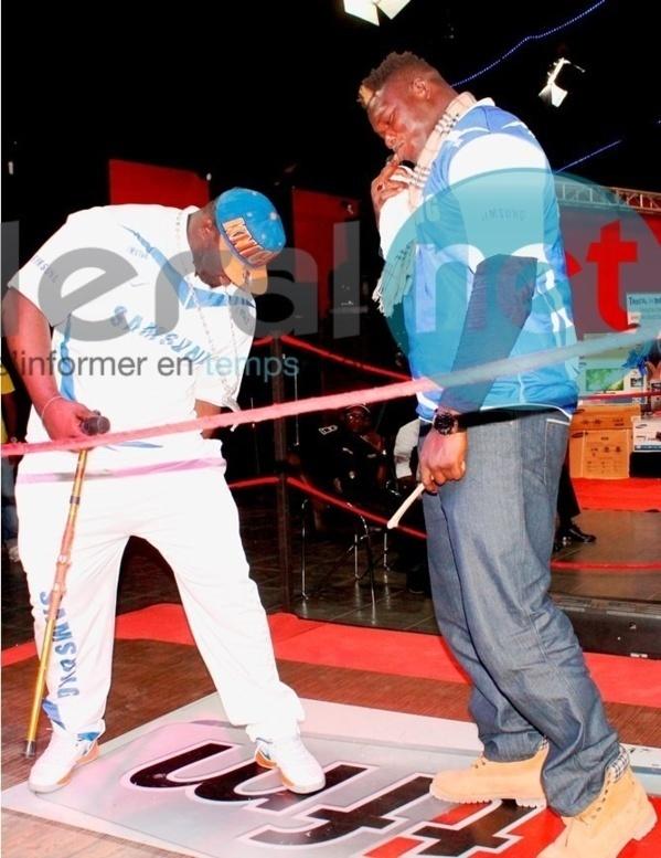 Live Stade Demba Diop : Suivez le combat Tapha Tine vs Balla Gaye 2 sur Sentv via www.leral.net