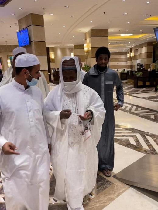 Oumrah 2021: Cheikh Mouhamadou Mahy Aliou Cissé  a prié hier à Médine