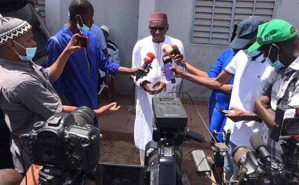 Ramadan 2021: Me Sidiki Kaba et son impressionnant soutien aux ménages de Tambacounda