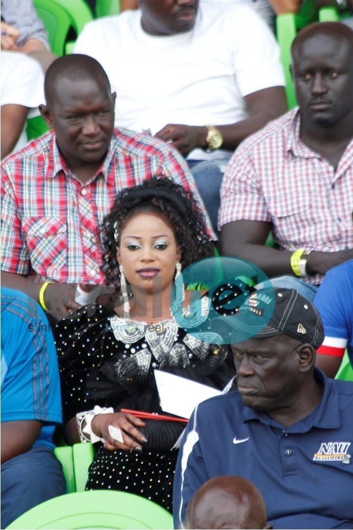 Oumy Gaye, miss Jongoma 2012 était stade pour suivre Balla-Tapha