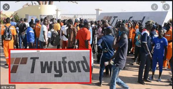 Usine de Twyford: Le Sen du FRAPP dénonce le licenciement arbitraire de 16 délégués des travailleurs