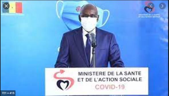 Covid-19: Le Sénégal enregistre 1 décès, 56 cas positifs et 150 patients sous traitement