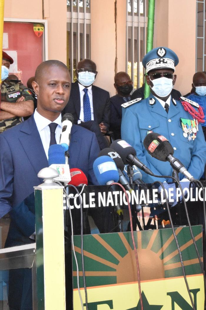 Installation du nouveau Dg de la Police: «Une garantie de succès face aux nombreux défis sécuritaires» (Ministre)
