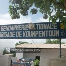 L'adjudant Yoro Diaw de la Brigade de la gendarmerie de Koumpentoum en garde-à-vue pour torture de détenu