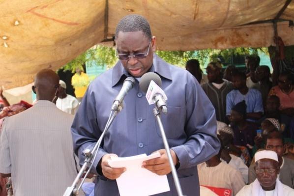 Foundiougne : Macky Sall retrouve ses anciens camarades du Primaire