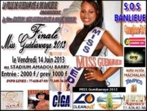 Election Miss 2013: La plus belle fille de Guédiawaye sera connue vendredi prochain