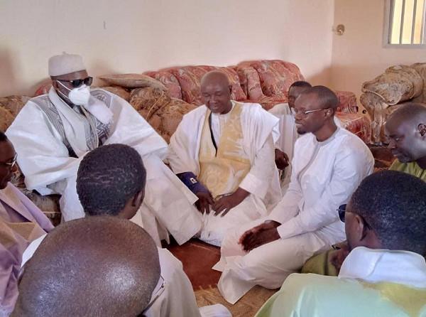 Touba :  le leader du Pastef s'y est rendu samedi avec une délégation restreinte