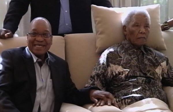 Jacob Zuma : « Je suis heureux de vous annoncer que Madiba réagit mieux au traitement depuis ce matin »
