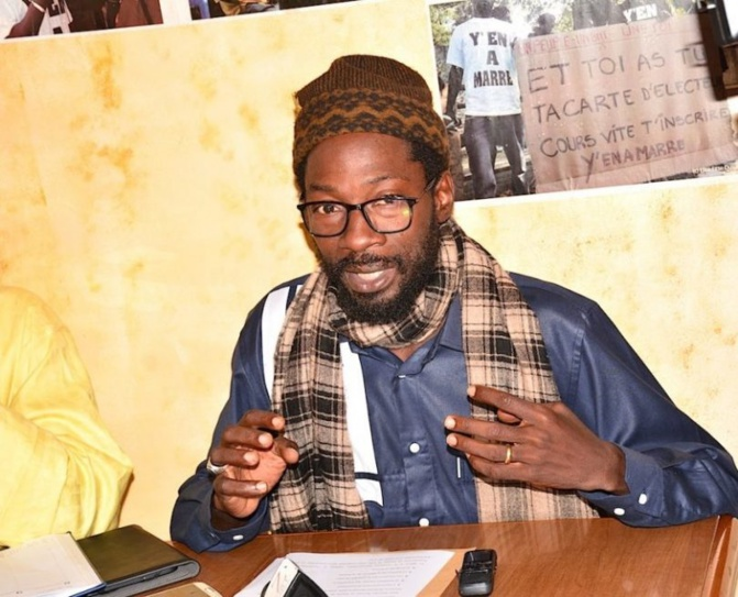 "Fadel Barro : ""Si Macky Sall ne renonce pas à un 3e mandat, il y aura..."""