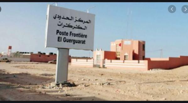 Maroc: Ouverture de la frontière d'El Guerguerate dans le sens des sorties...