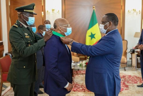 En visite à Dakar: Jean Claude Kassi Brou de la CEDEAO, élevé au rang de Commandeur dans l'Ordre national du Lion