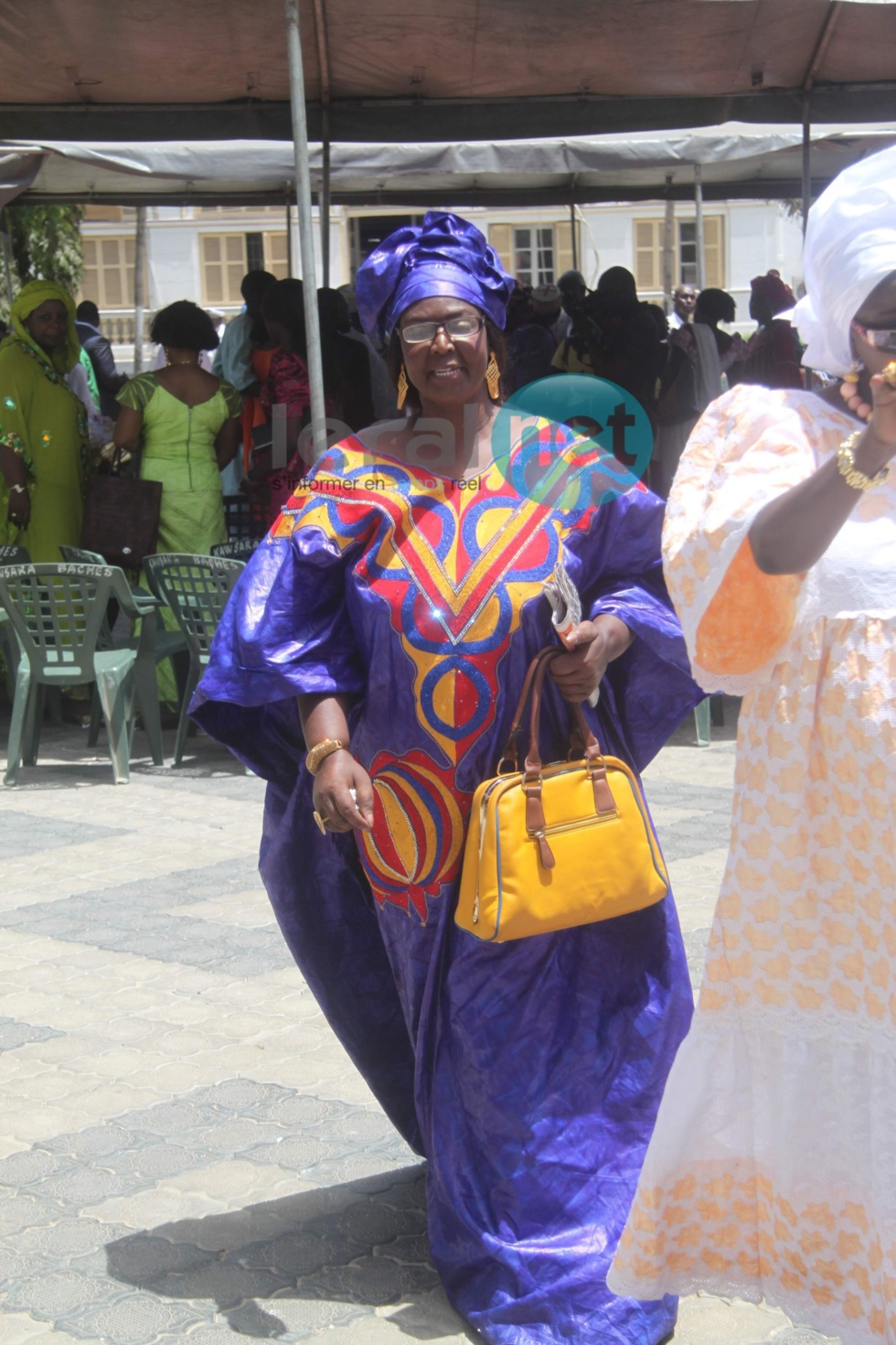 Voici la maman de Mame Diarra Thiam alias Lissa