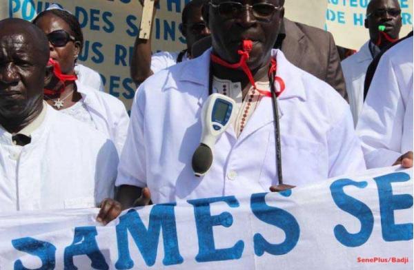 Grève de 48h du SAMES: Un mouvement bien suivi à Saint-Louis