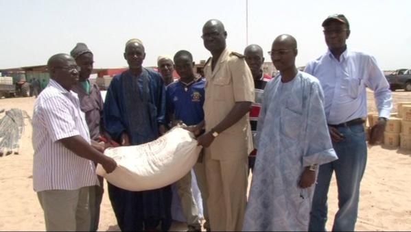 Richard-Toll : Senhuile offre 65 tonnes d'aliment de bétail aux éleveurs