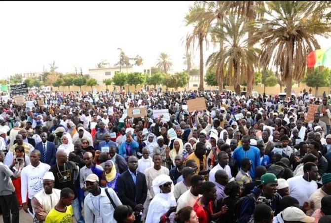 Soutien à la Palestine: Noo lank appelle les sénégalais à se joindre à la marche prévue ce vendredi 21