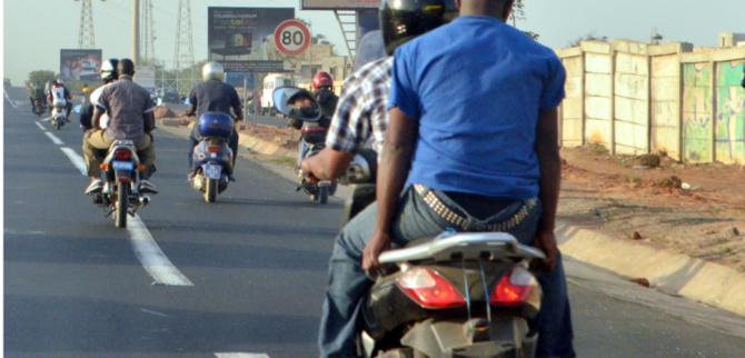 Solution aux embouteillages à Dakar: Les livreurs «Tiak-Tiak» à l'assaut du secteur du transport
