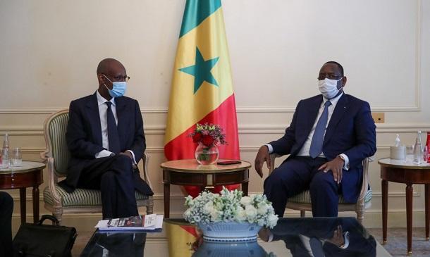 Sommet de Paris : les audiences de la matinée du président Macky Sall
