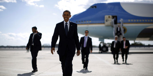 Barack Obama arrive à Dakar à 20h30