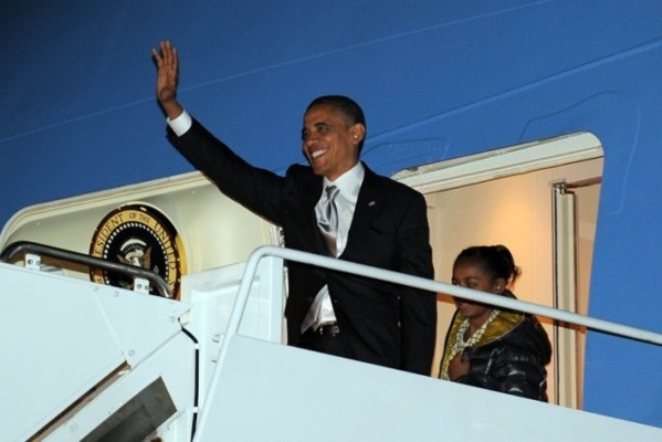 Follow Live the arrival of Barack Obama in Dakar on www.leral.net