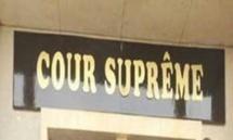 Séance de travail d'Obama à la Cour Suprême aujourd'hui