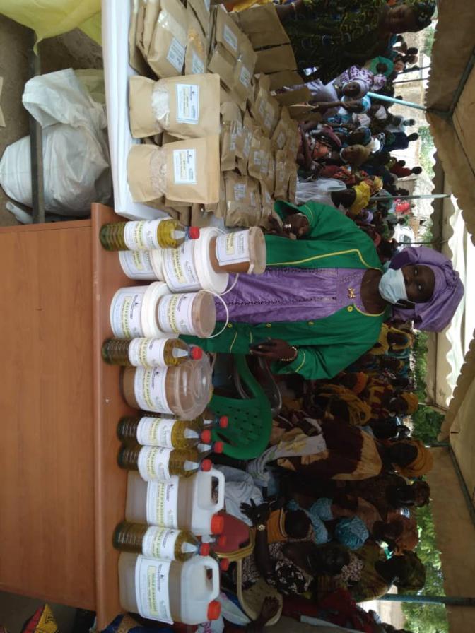 Tournée économique MFFGPE: Visite d'une unité de transformation de farine améliorée à Boubou Dem (Images)