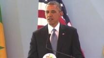 """A Dakar, Obama loue le """"héros"""" Mandela, soutient les homosexuels"""