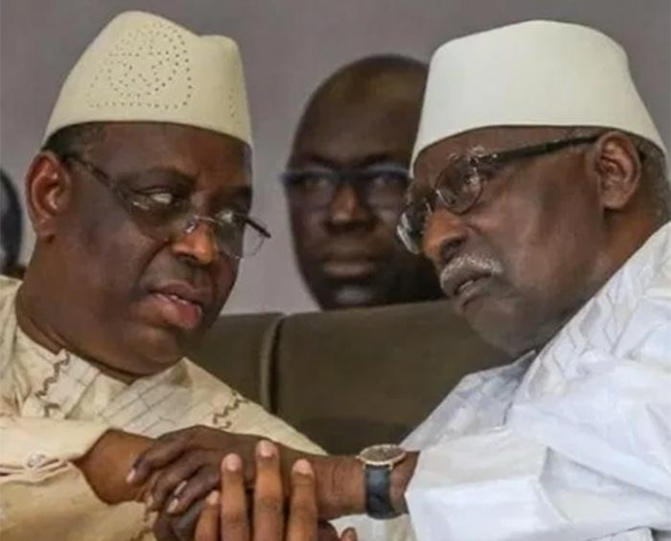 Après Touba: Macky Sall a rendu visite au khalife général des Tidianes, Serigne Babacar Sy Mansour