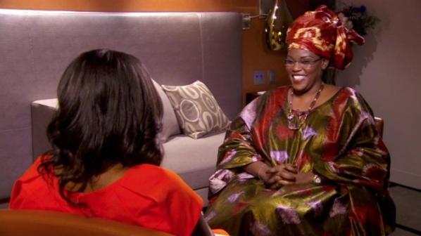 Marième Sall, une vraie femme sénégalaise qui shabille à la Sénégalaise comme toutes