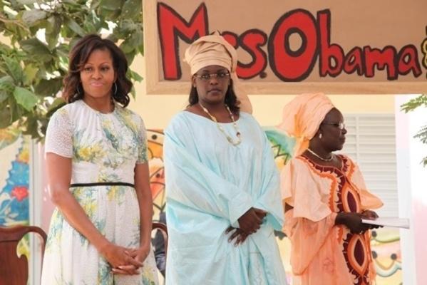 Marième Sall, une vraie femme sénégalaise qui s'habille à la Sénégalaise comme toutes les femmes sénégalaises qui ne sont pas complexées d'être sénégalaises