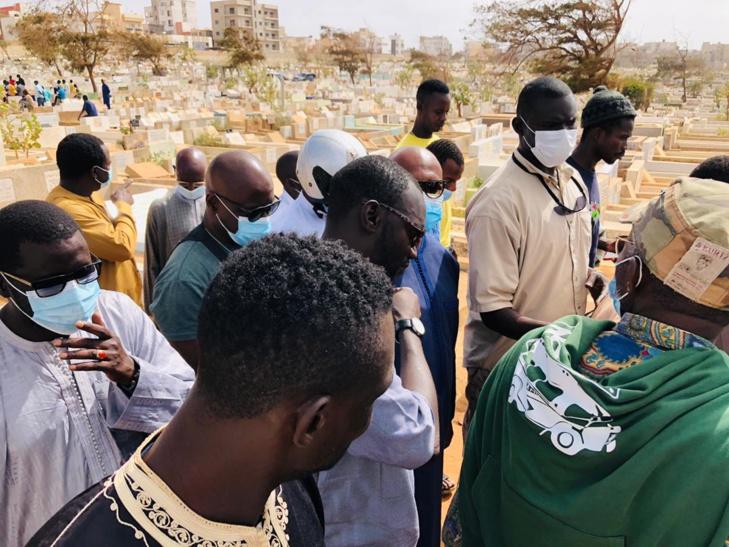 PHOTOS: Inhumation d'Awa Niang, mère de Khalifa Ababacar Sall
