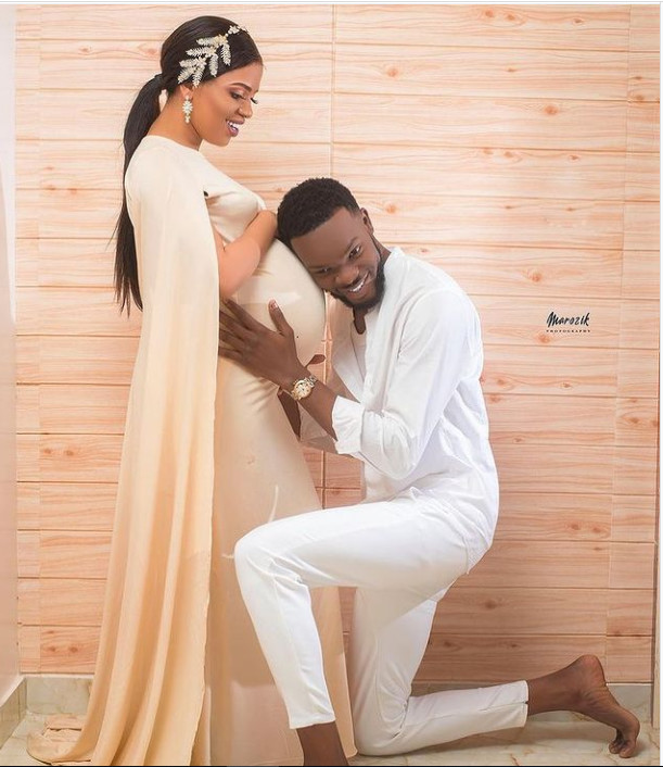 Babyboom: L'animatrice Ndèye Sokhna Sonko, épouse de Momo Wade, dévoile sa grossesse (Photos)