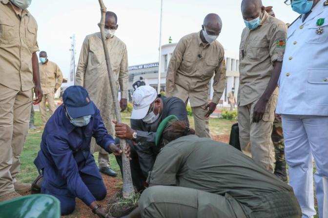 Kaffrine: Après l'hôpital Thierno Birahim Ndao, Macky Sall promet son clone à Ourosogui