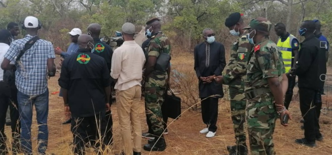 Drame de Kédougou: Macky Sall sur les lieux avec Sidiki Kaba