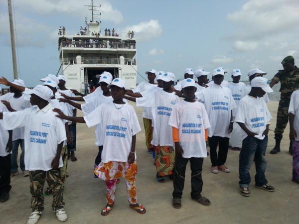 lnauguration du Port d'escale de l'île de Carabane : Discours de Monsieur Abdoul MBAYE, Premier Ministre