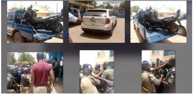 Voici quelques images de l'arrestation de Boy Djinné (Photos)
