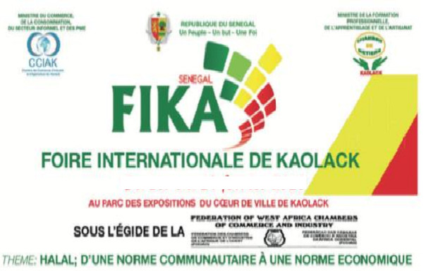 Kaolack: Prévue ce samedi, la FIKA 2021 reportée à une date ultérieure